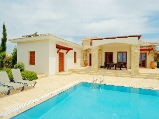 Zypern Golf Villa Aphrodite Hills Panorama