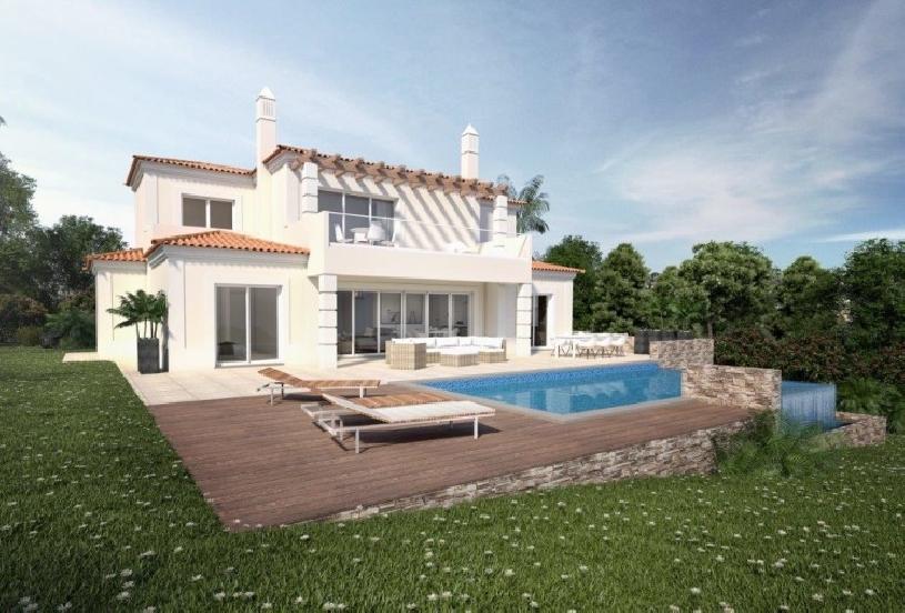 Algarve Vale de Pinta Golfvilla Neubau - 01