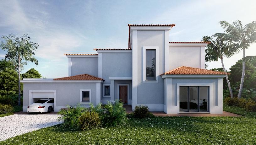 Algarve Vale de Pinta Golfvilla Neubau - 06