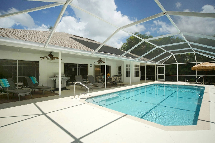 Florida Cape Coral Center Golf Villa - 05