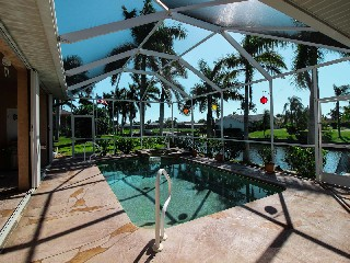 Florida Cape Coral Luxury Canal Villa