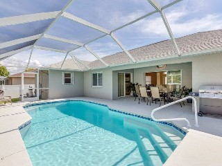 Florida Cape Coral Pool Villa