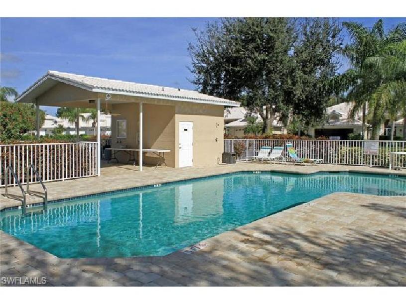 Florida Naples Palomino Dr Golf Haushälfte mit Golfplatzblick und Pool - 10