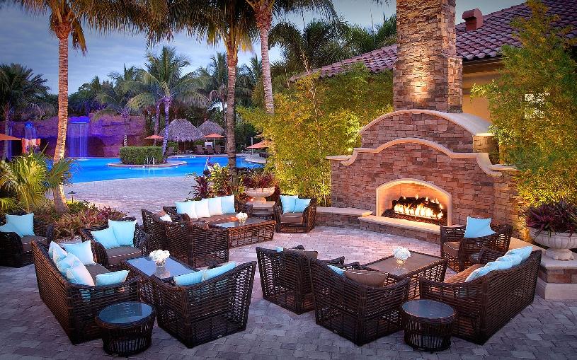 Florida Naples Palomino Dr Golf Haushälfte mit Golfplatzblick und Pool - 14