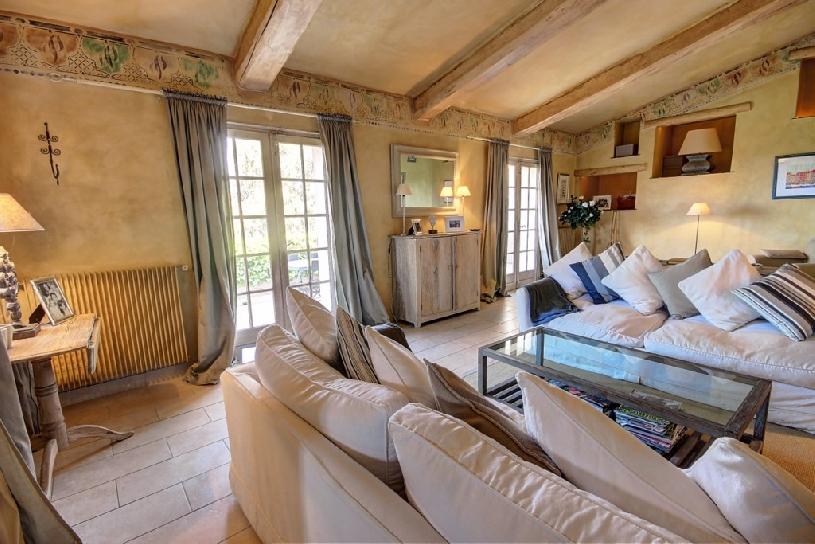 Golfimmobilie Cote D\'Azur Pool Villa Tanneron - 03