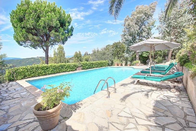 Golfimmobilie Cote D\'Azur Pool Villa Tanneron - 04