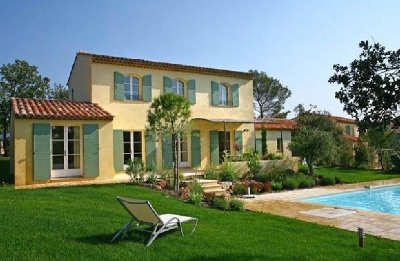 frankreich provence st endreol villa mit pool am golfplatz. Black Bedroom Furniture Sets. Home Design Ideas