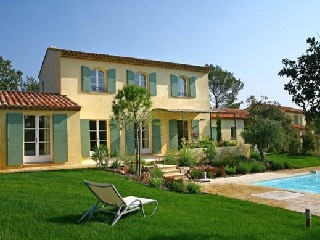 Frankreich Provence St Endreol Villa mit Pool am Golfplatz