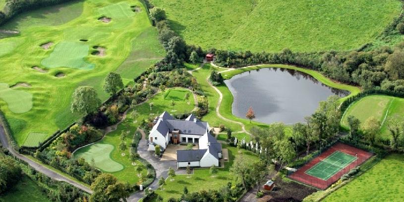 Irland Rory McIlroys Golf Anwesen  - 01
