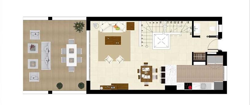 Costa del Sol La Cala Golf Resort Appartement Neubau - 09