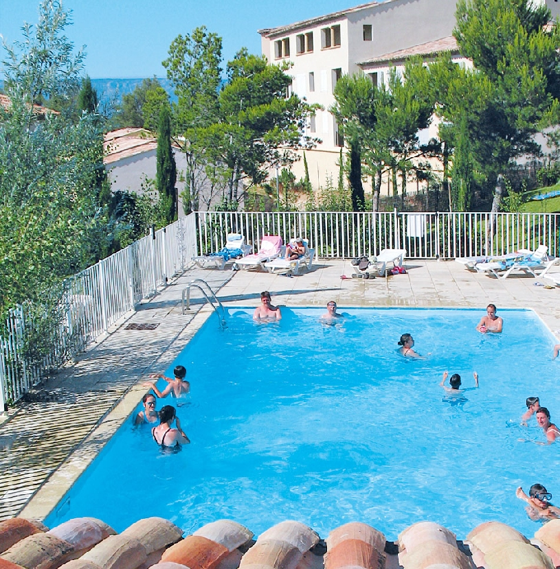 Frankreich Provence Golf de Pont Royal Ferienhaus Oliviers - 06