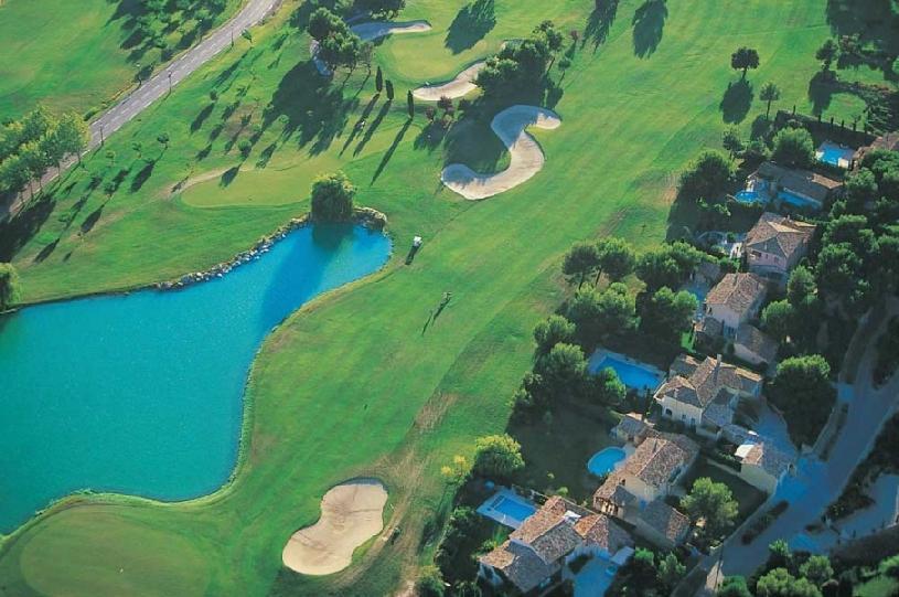 Frankreich Provence Golf de Pont Royal Ferienhaus Oliviers - 07