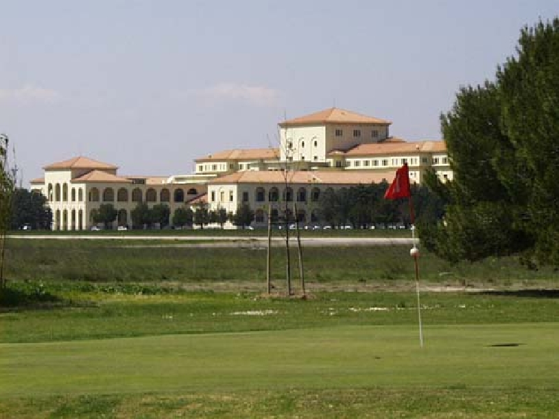 Frankreich Provence Golf de Pont Royal Ferienhaus Oliviers - 08