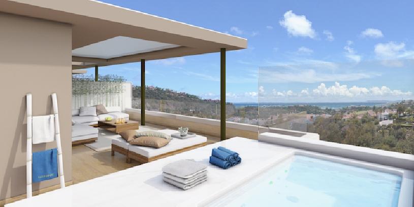 Spanien, Costa del Sol, Luxusapartments am Golfplatz - 01
