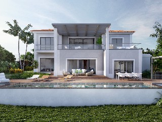 Algarve Geplante Luxusvilla direkt am Golfplatz