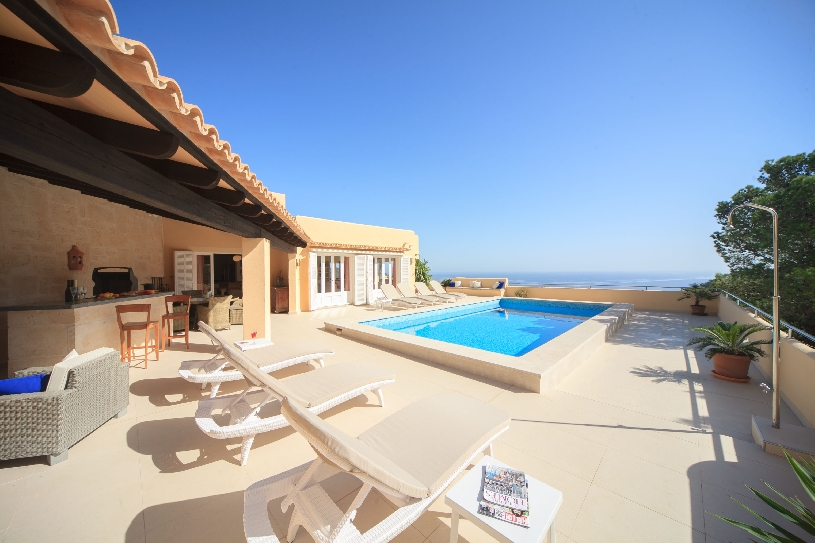 mallorca canyamel luxus golf villa mit meerblick in. Black Bedroom Furniture Sets. Home Design Ideas