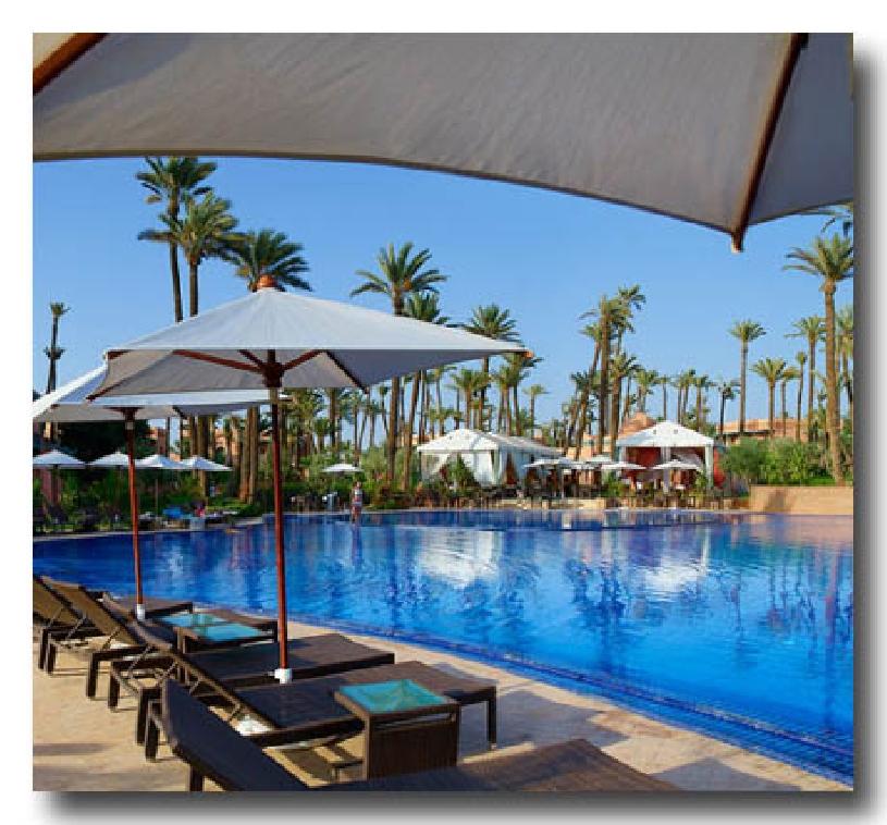 Marokko Palmeraie Golf Apartment - 05