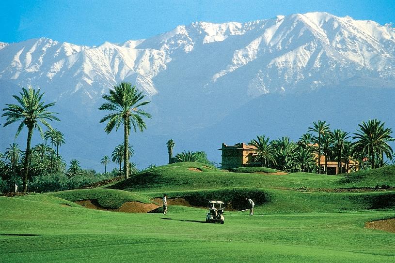 Marokko Palmeraie Golf Apartment - 07