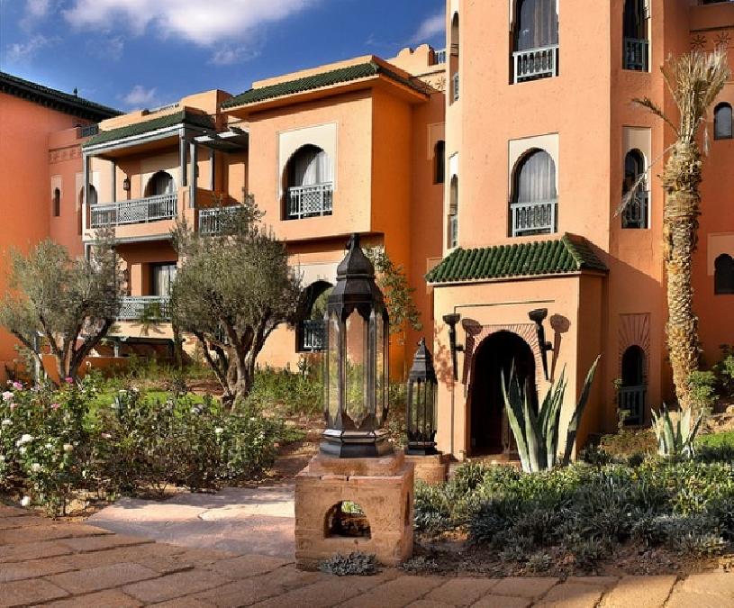 Marokko Palmeraie Golf Apartment - 08