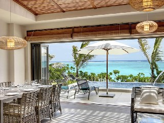 Mauritius Ile aux Cerf Golf Beachfront Pool Villa 3SZ