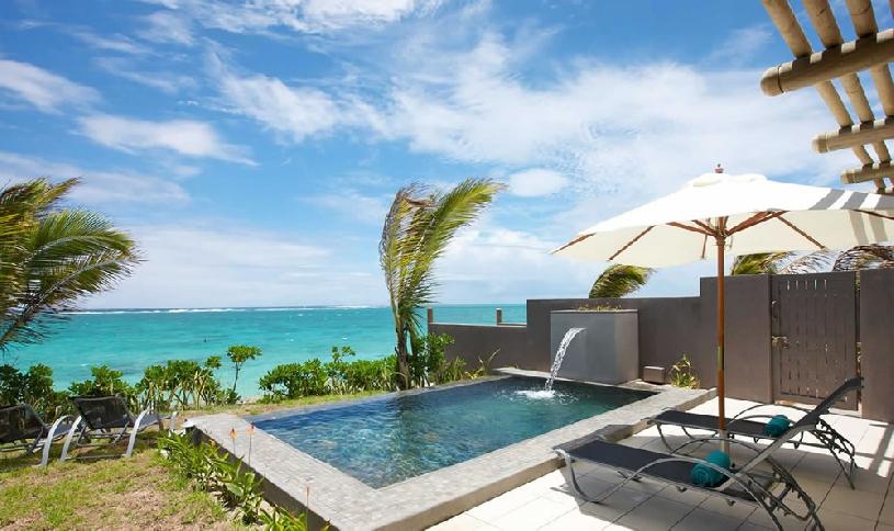 Mauritius Ile aux Cerf Golf Beachfront Pool Villa 3SZ  - 03