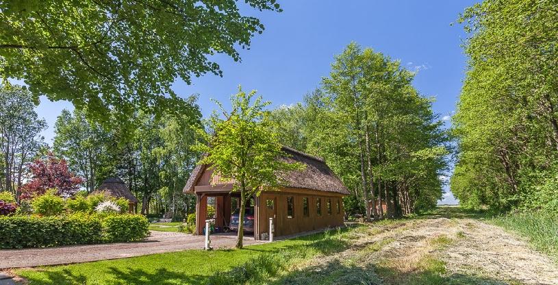 Nordsee Dithmarschen Anwesen unter Reet am Golfplatz - 10