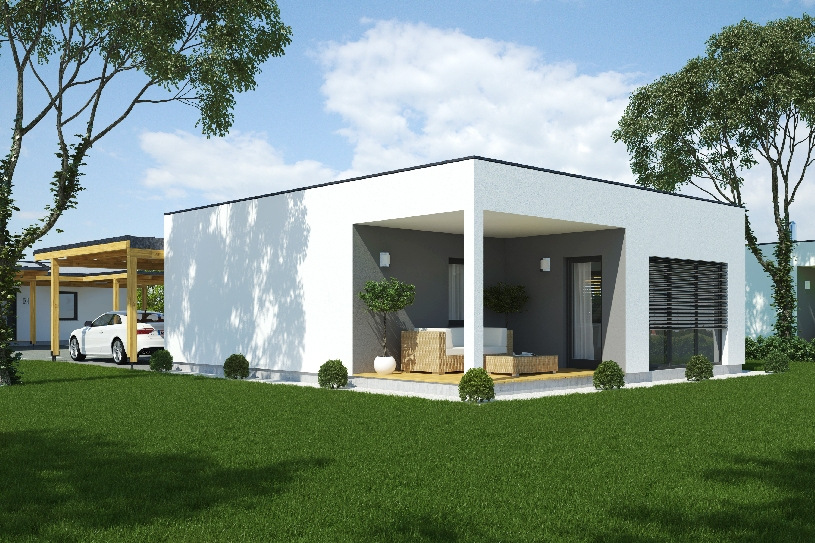Sterreich ungarn designer golf bungalow in for Single haus bauen