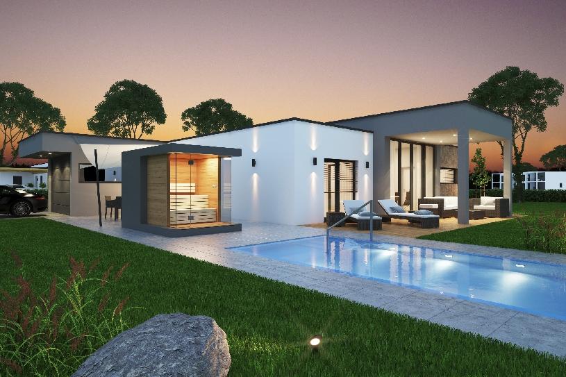 Sterreich ungarn designer golf villa in mittelburgenland for Schwimmteich graz