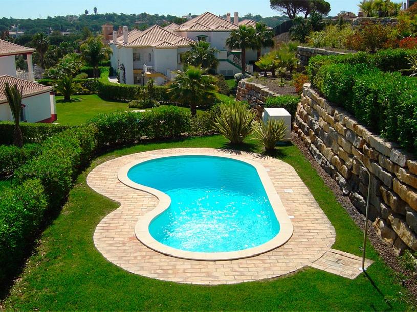 Portugal Quinta Do Lago Golf Apartment mit Pool - 01