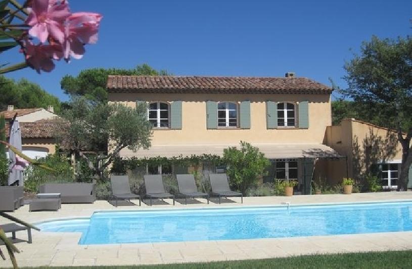Provence Villa St Endreol mit Pool am Golfplatz - 02