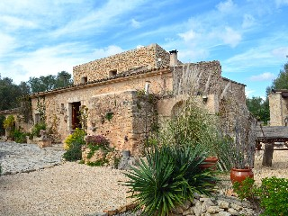 Spanien, Mallorca, repräsentative Finca in Golfplatznähe