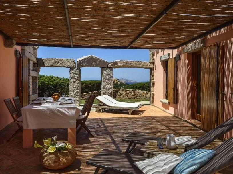 Sardinien Costa Smeralda Pevero Steinhaus - 03