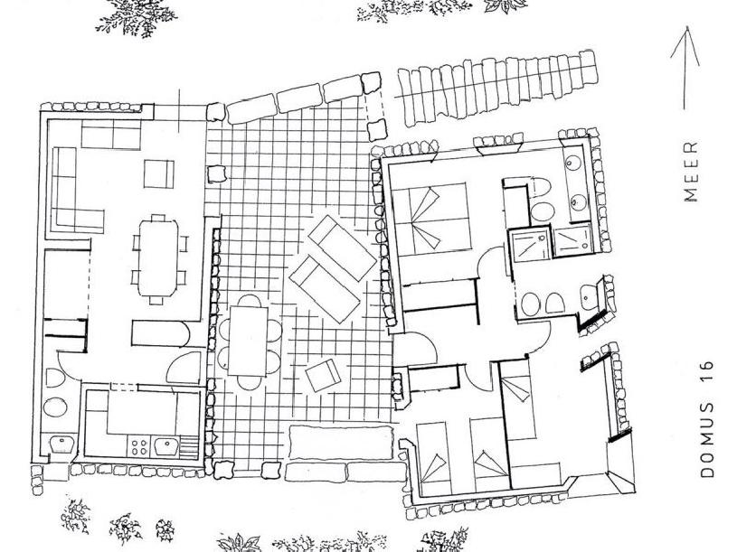 Sardinien Costa Smeralda Pevero Penthouse - 14