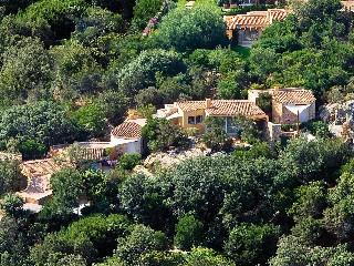 Bild Sardinien Costa Smeralda Golfvilla  L'ea Bianca Bougainville