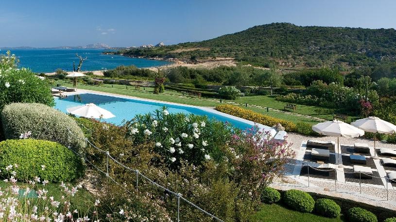 Sardinien Costa Smeralda Golfvilla  L'ea Bianca Bougainville - 06