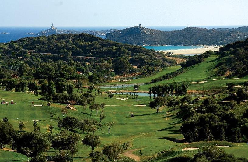 Sardinien Costa Smeralda  Golf Pevero Appartement - 01