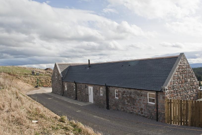 Schottland Aberdeen Cottage 2 Ferienhaus am Golfplatz - 01