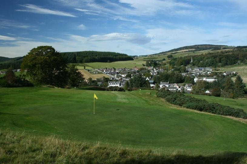 Schottland Aberdeen Cottage 2 Ferienhaus am Golfplatz - 08