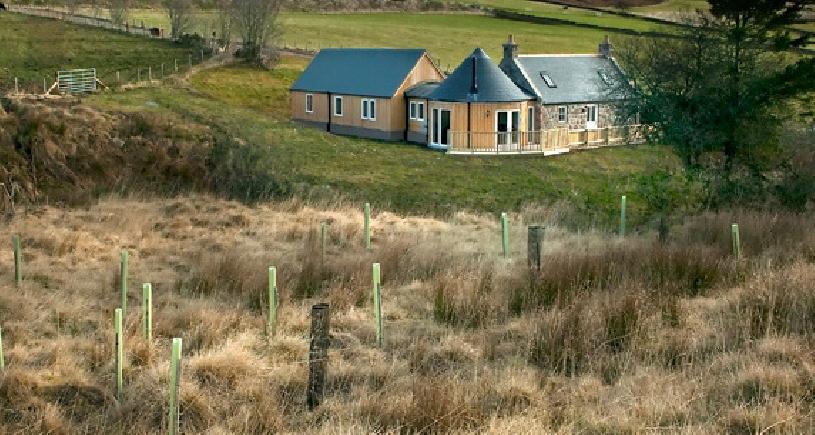 Schottland Aberdeen Cottage Ferienhaus am Golfplatz - 01