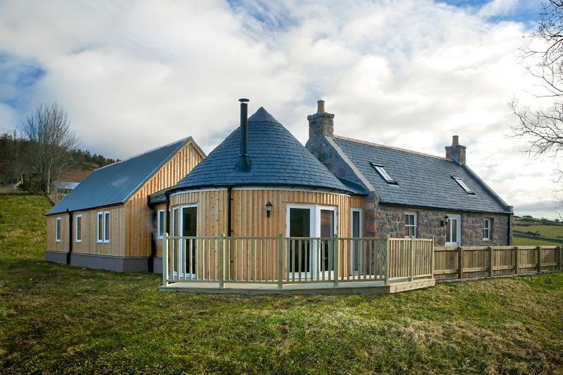 Schottland Aberdeen Cottage Ferienhaus am Golfplatz - 09
