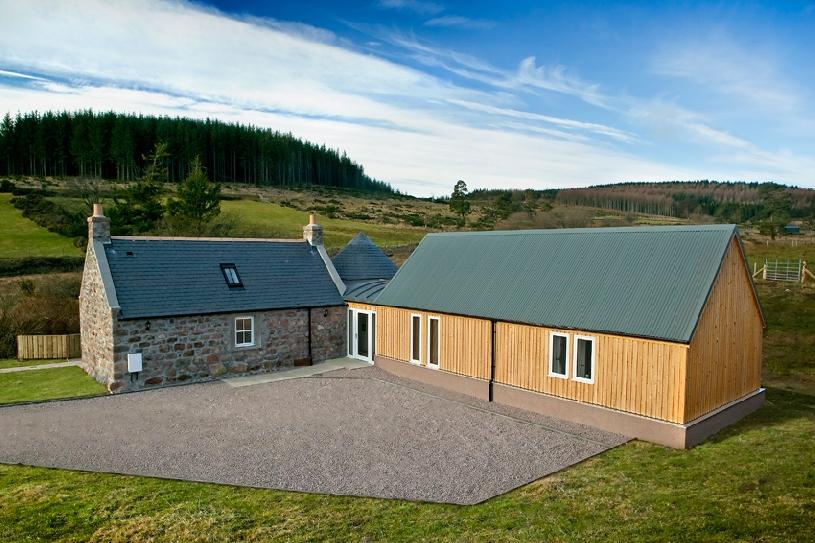 Schottland Aberdeen Cottage Ferienhaus am Golfplatz - 10