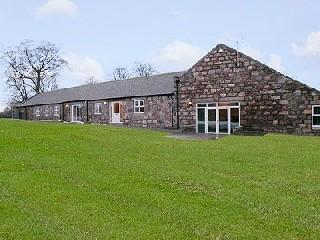 Schottland Aberdeen Tolquhon Cottage am Golfplatz