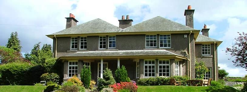 Schottland Landgut Sterling House am Golfplatz - 01