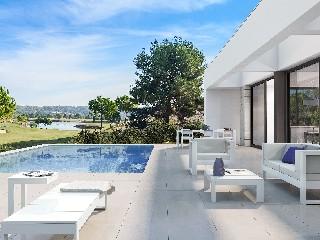 Spanien, Alicante, Villa am Golfplatz