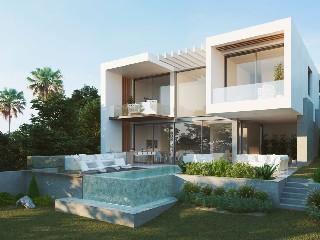 Spanien, Benahavis Luxusgolfvilla mit Meerblick