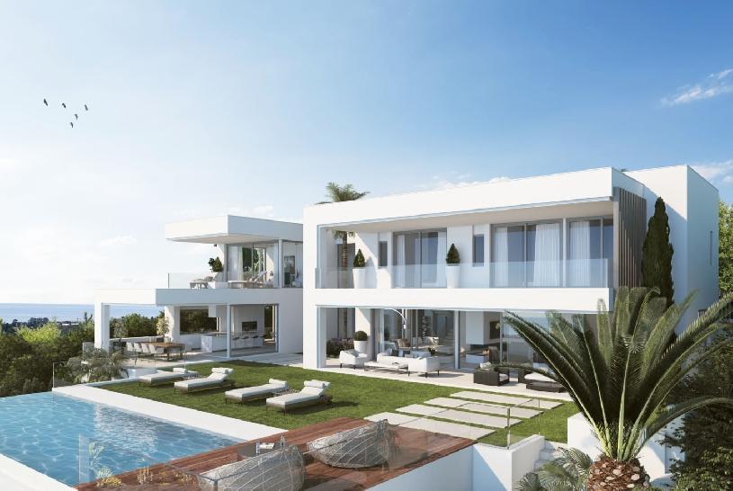 Spanien Benahavis exklusive Neubau-Golfvilla - 01