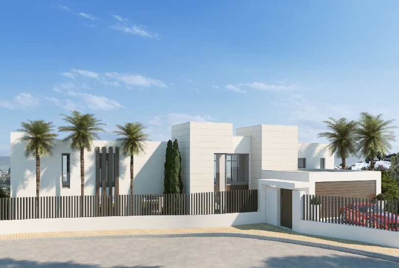 Spanien Benahavis exklusive Neubau-Golfvilla - 02