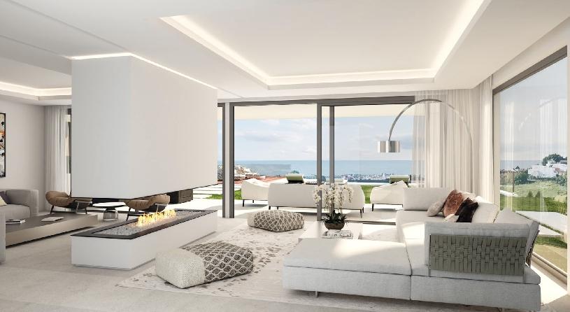 Spanien Benahavis exklusive Neubau-Golfvilla - 04