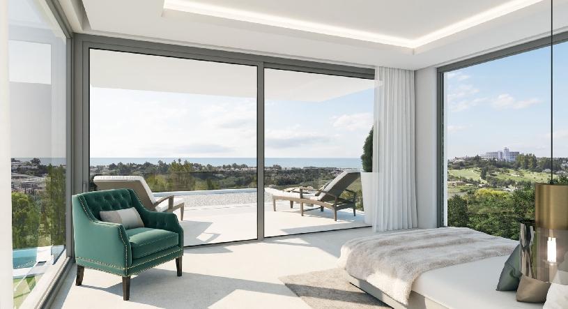 Spanien Benahavis exklusive Neubau-Golfvilla - 05
