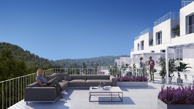 Spanien Benahavis moderne Stadthäuser  - 01